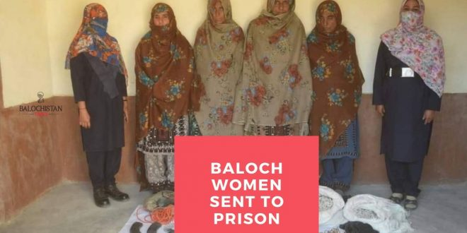 Accused Baloch women sent to prison for lack of women-only lock-ups